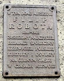 Tablica pamiątkowa z ul. Młyńskiej 8 w Prudniku.jpeg