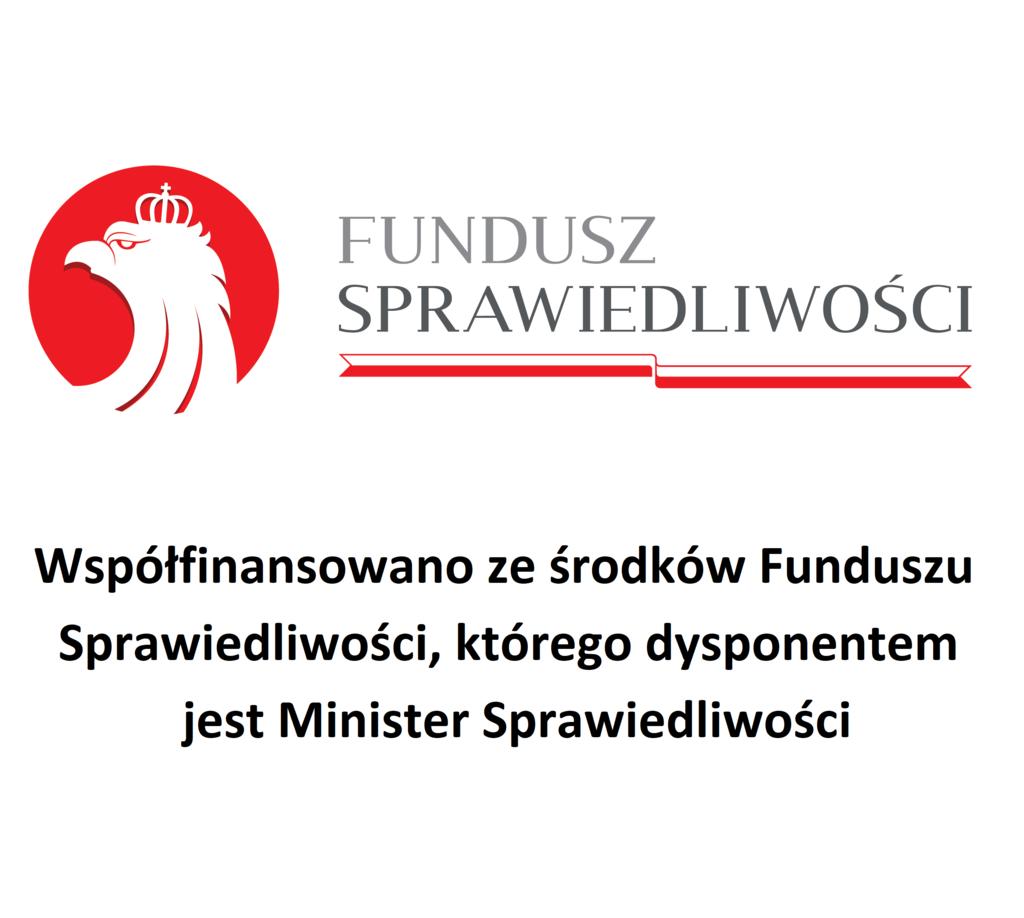 logo Funduszu Sprawiedliwości