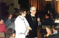 Autorka ze swoja siostra Mariką Marks z Kórnicy